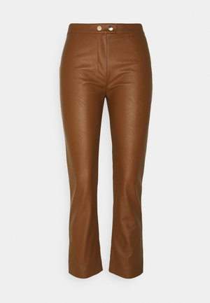 TORRONE PANTALONE  - Trousers - brown