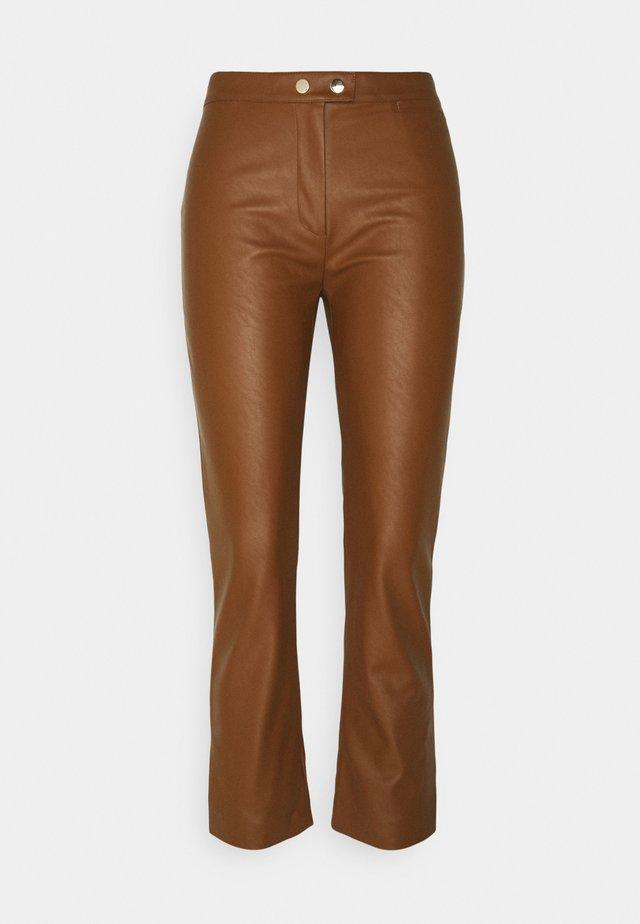 TORRONE PANTALONE  - Spodnie materiałowe - brown