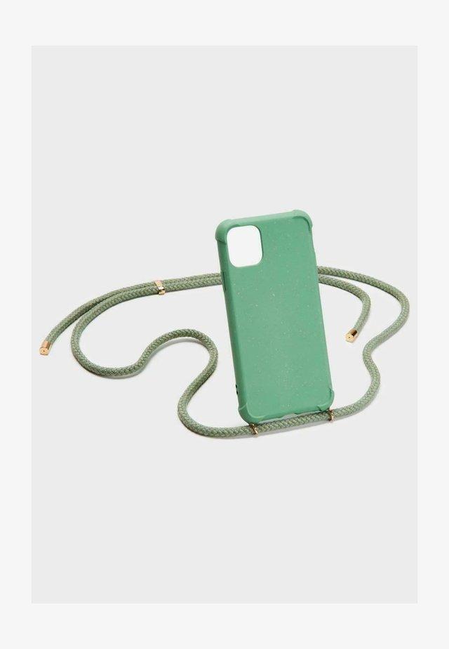 IPHONE 12 MINI - Phone case - green/gold