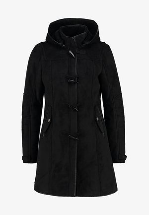 LIEKE - Short coat - black