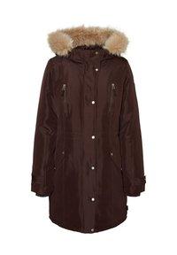 Vero Moda - Płaszcz zimowy - chocolate plum - 2