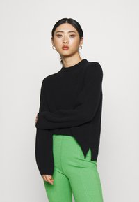 Gina Tricot Petite - ABBIE TROUSERS - Tygbyxor - kelly green - 3