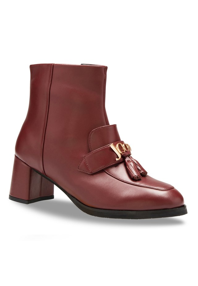 NARA - Ankle boots - darkred