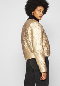Roxy - CROSS STEPPING - Winter jacket - gold - 4