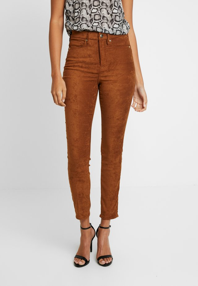 GOOD WAIST - Broek - tobacco