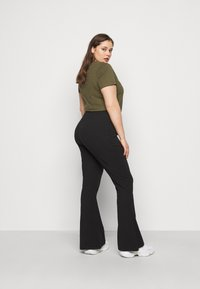 Even&Odd Curvy - Trousers - black - 2
