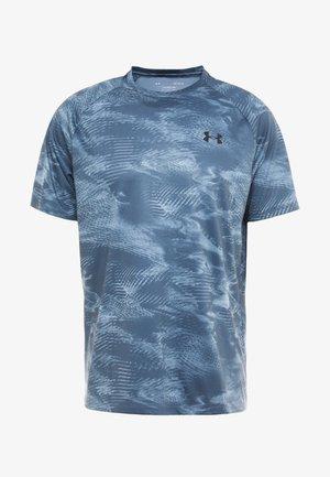 TECH 2.0  - T-Shirt print - wire/black