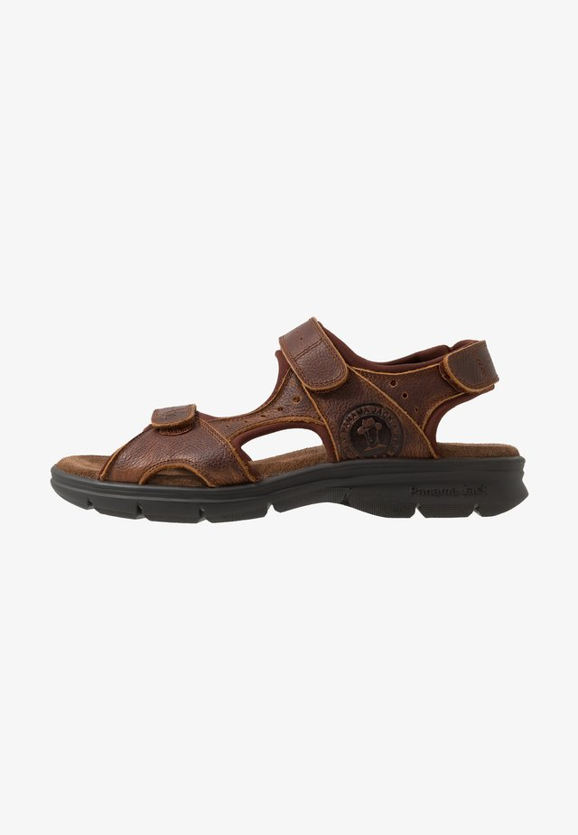 SALTON BASICS C4 - Walking sandals - bark