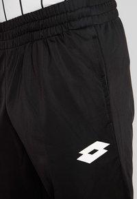 Lotto - DELTA PANT - Spodnie treningowe - all black - 5