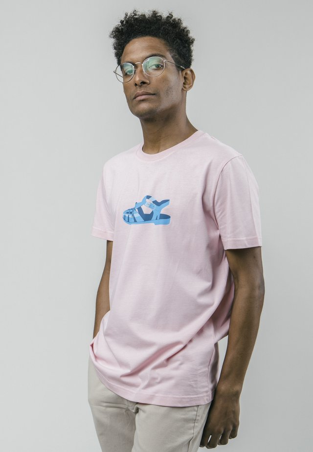 ICONIC JELLY - T-shirt con stampa - pink