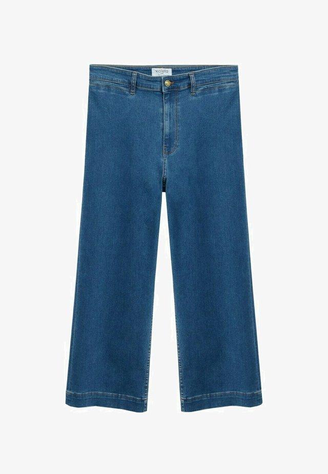 IRIS - Jeans a zampa - mittelblau