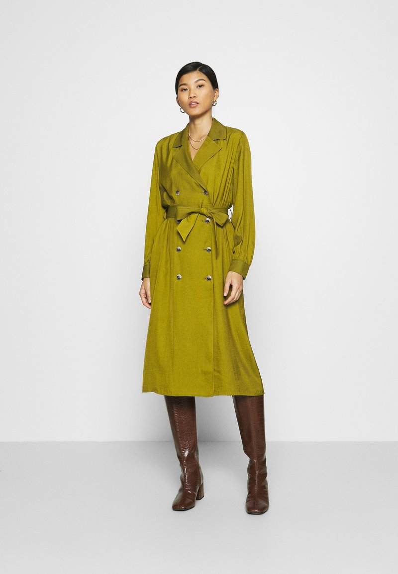 Banana Republic - MIDI TRENCH DRESS - Blousejurk - cinque terre