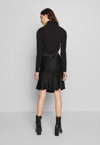 Second Female - EDDY SHORT SKIRT - A-line skirt - black - 2