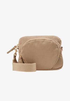 MINI BAG - Across body bag - warm taupe