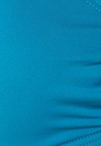 MICHAEL Michael Kors - ICONIC SOLIDS HALTER - Bikinitop - lux teal - 2