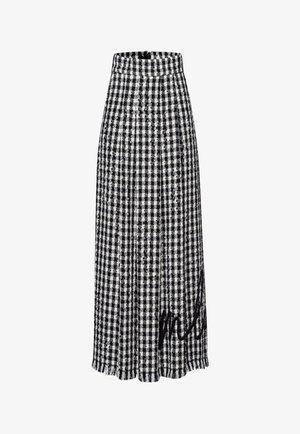 Maxi skirt - black, white