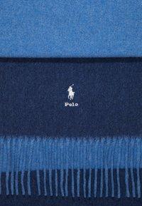 Polo Ralph Lauren - SCARF - Sciarpa - sky blue/navy - 2