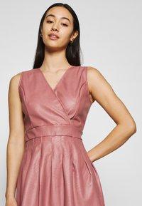 WAL G. - ZASHA MINI DRESS - Cocktail dress / Party dress - dark blush pink - 3