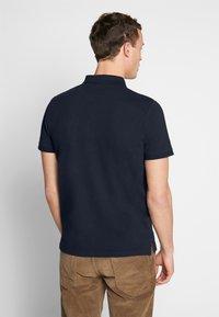 TOM TAILOR - BASIC WITH CONTRAST - Polo shirt - sky captain blue - 2