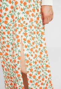 Topshop Maternity - AUSTIN - A-line skirt - cream - 4