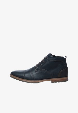 Lace-up ankle boots - black/black
