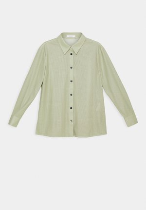 FANNE - Button-down blouse - pistachio