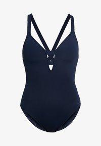 ACTIVE DEEP V MAILLOT - Swimsuit - indigo
