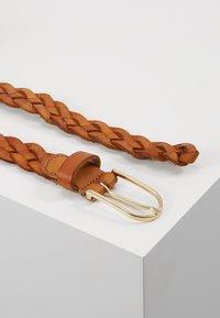 Vanzetti - Braided belt - cognac - 2