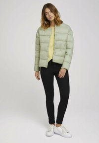 TOM TAILOR DENIM - Long sleeved top - soft yellow - 1