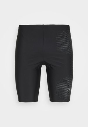 TECH LOGO JAM - Badehose Pants - tech black/ardesia