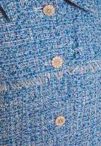 Sister Jane - BUBBLEGUM TWEED FRAYED JACKET - Summer jacket - blue - 2