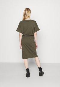 G-Star - ADJUSTABLE WAIST DRESS - Jersey dress - khaki - 2