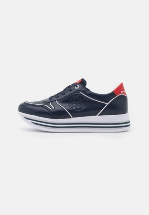 LIAN - Sneakersy niskie - dark blue/multicolour