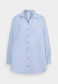 River Island Petite - Button-down blouse - blue - 0
