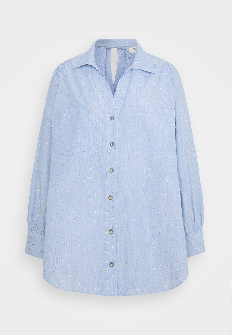 River Island Petite - Button-down blouse - blue