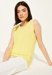 comma casual identity - Blouse - yellow - 2
