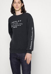 Replay - BRONNY AGED  - Jeans Tapered Fit - dark blue - 3