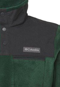 Columbia - COTTONWOOD PARKHALF SNAP - Fleece trui - spruce/shark - 4