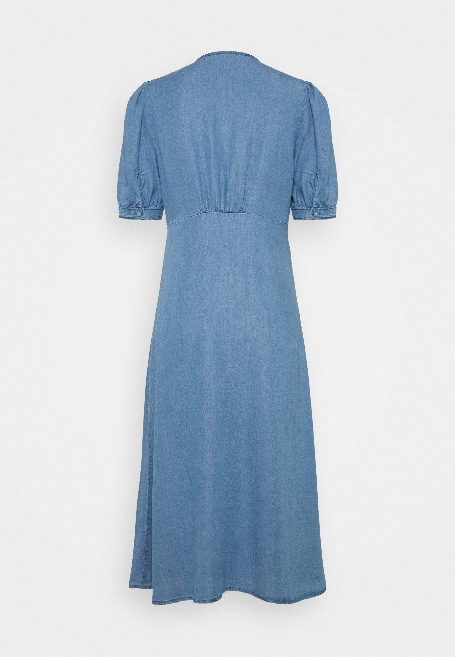 Women ONLDAISY DRESS - Denim dress