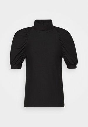 RIFA TURTLENECK - Jednoduché triko - black