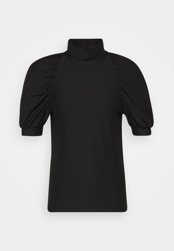 RIFA TURTLENECK - Camiseta básica - black