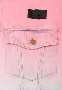Grimey - UNISEX  YANGA JACKET - Spijkerjas - pink - 2