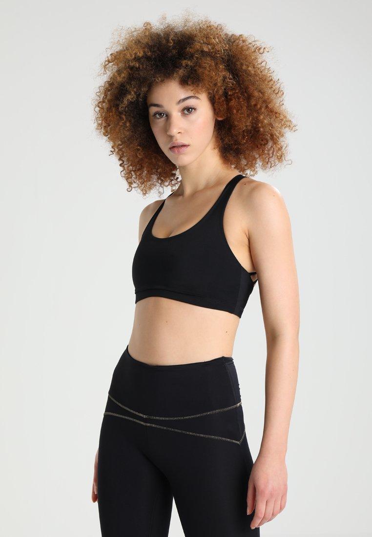 Onzie - CHIC BRA - Brassières de sport à maintien léger - black