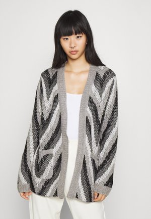 PURE SHORES - Cardigan - heritage heather sola