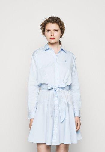 BROADCLOTH - Shirt dress - beryl blue