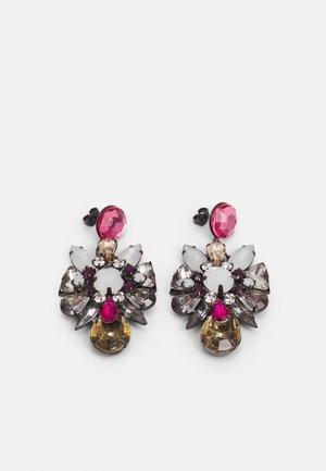 PCPATTI EARRINGS - Earrings - dark silver-coloured/multi
