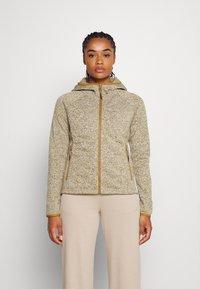 Icepeak - ASHBY - Fleece jacket - fudge - 0