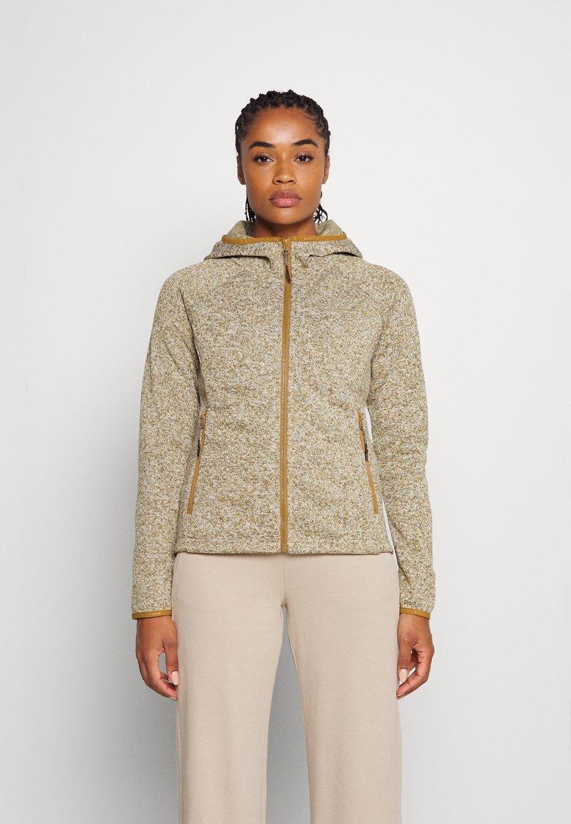 Icepeak - ASHBY - Fleece jacket - fudge