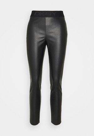 PULL ON - Pantalon classique - black
