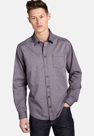 Shirt - violett melange